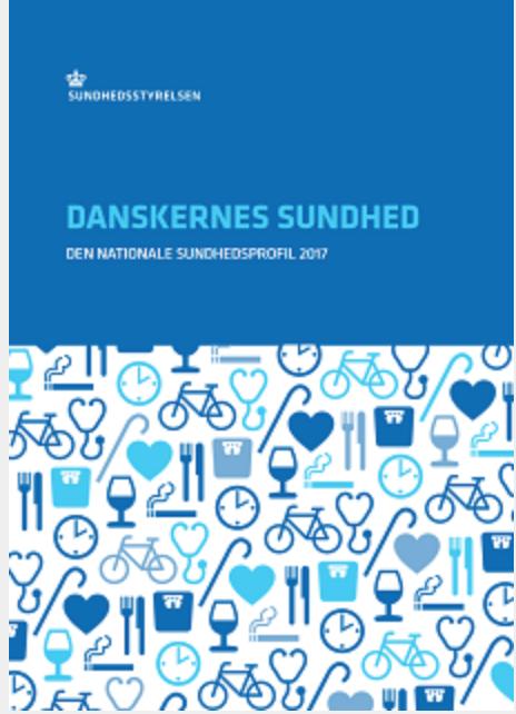 Danskernes Sundhed – Den Nationale Sundhedsprofil 2017